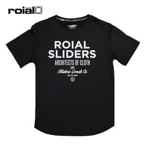 ROIAL・ロイアル/19SP/半袖Tシャツ・水陸両用ハイブリッドTシャツ/VIOLA・R901MHT02/BLACK・ブラック/UPF50/クイックドライ/速乾/メンズ/|selfishsurf