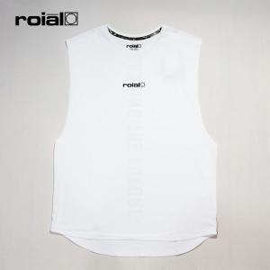 ROIAL・ロイアル/19SP/バンドカット・水陸両用ハイブリッドTシャツ/PAEONIA・R901MHT03/OFF WHITE・オフホワイト/UPF50/クイックドライ/メンズ/タンクトップ|selfishsurf
