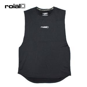 ROIAL・ロイアル/19SP/バンドカット・水陸両用ハイブリッドTシャツ/PAEONIA・R901MHT03/BLACK・ブラック/UPF50/クイックドライ/メンズ/タンクトップ|selfishsurf