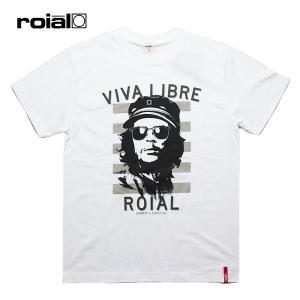 ROIAL,ロイアル/19SU/S/S TEE,半袖Tシャツ/RASHLHAGUE・R902MST03/WHITE×BLACK・ホワイト×ブラック/S・M・Lサイズ/メンズ/サーフ/カジュアル|selfishsurf