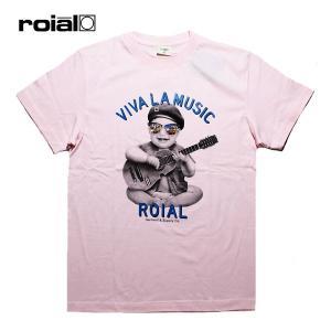 ROIAL,ロイアル/19SU/S/S TEE,半袖Tシャツ/KOCHAB・R902MST04/PINK・ピンク/S・M・Lサイズ/メンズ/サーフ/カジュアル|selfishsurf