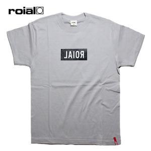 ROIAL,ロイアル/19SU/S/S TEE,半袖Tシャツ/SAIPH・R902MST05/LT GRAY・ライトグレー/メンズ/サーフ/カジュアル/ロゴ/シンプル|selfishsurf