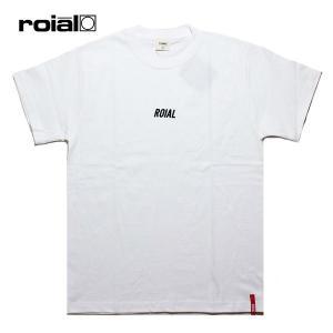 ROIAL,ロイアル/19SU/S/S TEE,半袖Tシャツ/DENEBOLA・R902MST06/WHITE・ホワイト/メンズ/サーフ/カジュアル/ロゴ/シンプル|selfishsurf
