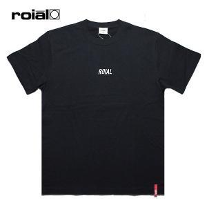 ROIAL,ロイアル/19SU/S/S TEE,半袖Tシャツ/DENEBOLA・R902MST06/BLACK・ブラック/メンズ/サーフ/カジュアル/ロゴ/シンプル|selfishsurf