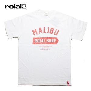ROIAL,ロイアル/19SU/S/S TEE,半袖Tシャツ/ASPIDISKE・R902MST09/WHITE・ホワイト/メンズ/サーフ/カジュアル/ロゴ/シンプル|selfishsurf