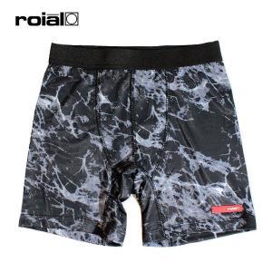 ROIAL,ロイアル/21SU/ボードショーツインナーパンツ/CHAINBREAKER・R101MIS01/BLACK MARBLE/4WAYストレッチ/軽量/接触冷感/吸水速乾/UPF50+/フリーサイズ|selfishsurf