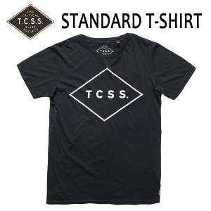 TCSS,ティーシーエスエス/2015年HOLIDAY/ S/S TEE,TEE,半袖Tシャツ/STANDARD TEE・SATS15-01/PHANTOM・ブラック/S・M・Lサイズ|selfishsurf
