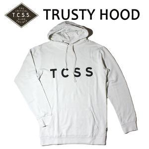 TCSS,ティーシーエスエス/2017年FALL/PULLOVER PARKA・プルオーバーパーカー/TRUSTY HOOD・SAF1707/DIRTY WHITE・ダーティーホワイト/Mサイズ|selfishsurf