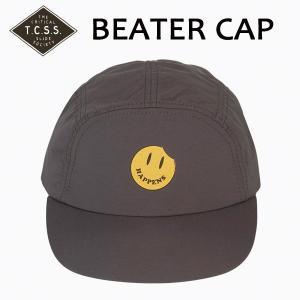 TCSS,ティーシーエスエス/17FA/CAP,ナイロンキャップ/BEATER CAP・SAH1711/CHARCOAL・チャコール/フリーサイズ/ニコちゃん/ユニセックス|selfishsurf