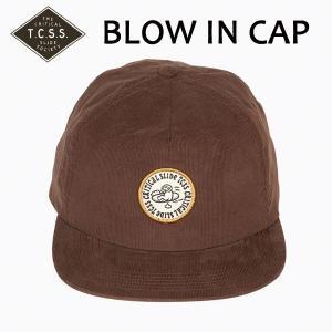 TCSS,ティーシーエスエス/17FA/CAP,キャップ/BLOW IN CAP・SAH1706/BROWN・ブラウン/フリーサイズ/コーデュロイ/ユニセックス|selfishsurf