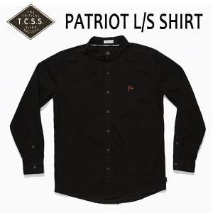 TCSS,ティーシーエスエス/17FA/ L/S SHIRTS,長袖シャツ/PATRIOT L/S SHIRT・SAS1711/PHANTOM・ブラック/Mサイズ|selfishsurf