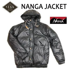 TCSS,ティーシーエスエス/17FA/アウター,ダウンジャケット/NANGA JACKET・SDJ1705/BELUGA・ブラック/Mサイズ/メンズ|selfishsurf
