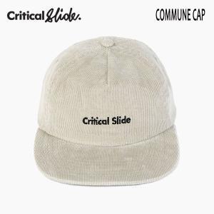 TCSS,ティーシーエスエス,Critical Slide/19SP/CAP,キャップ/COMMUNE CAP・HW1871/STORM・ベージュ/フリーサイズ/ユニセックス/コーデュロイ|selfishsurf