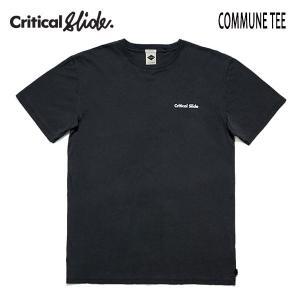 TCSS,ティーシーエスエス,Critical Slide/19SP/半袖Tシャツ/COMMUNE TEE・TE18126/PHANTOM・ブラック/メンズ/ロゴ/サーフ/シンプル|selfishsurf