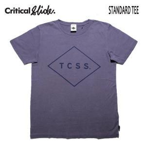 TCSS,ティーシーエスエス,Critical Slide/19SP/ S/S TEE,半袖Tシャツ/STANDARD TEE・TE1901/GRAPE ・パープル/S・M・Lサイズ/メンズ/ロゴ/シンプル|selfishsurf