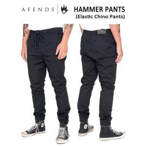 AFENDS,アフェンズ/ボトムス・デニム・ジョガーパンツ/HAMMER PANTS・11-05-020/BLACK・ブラック/28・30・32インチ|selfishsurf