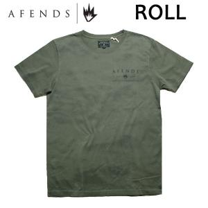 AFENDS,アフェンズ/2017年SPRING/S/S Tシャツ・半袖Tシャツ/Roll・01-09-019-D/Disposal・オリーブ/M・Lサイズ/スタンダードフィット|selfishsurf