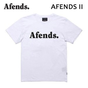 AFENDS,アフェンズ/2017年FALL/S/S Tシャツ・半袖Tシャツ/Afends II・01-07-024/WHITE・ホワイト/M・Lサイズ/スタンダードフィット/ASIAN FIT|selfishsurf