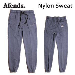 AFENDS,アフェンズ/17HO/スエットパンツ/Nylon Sweat・17D5-01/INDIGO ACID・インディゴアシッド/Mサイズ/メンズ|selfishsurf