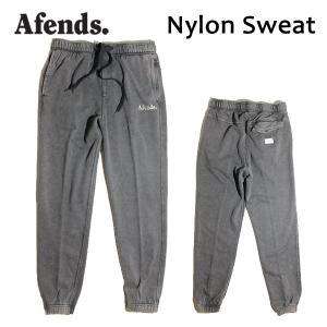 AFENDS,アフェンズ/17HO/スエットパンツ/Nylon Sweat・17D5-01/BLACK ACID・ブラックアシッド/Mサイズ/メンズ|selfishsurf