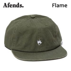 AFENDS,アフェンズ/17HO/CAP・キャップ/FLAME・17D14-08/DUSTY OLIVE・オリーブ/フリーサイズ/ユニセックス|selfishsurf