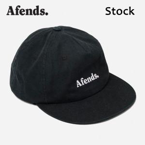 AFENDS,アフェンズ/19SP/CAP・キャップ/STOCK・A191610/BLACK・ブラック/フリーサイズ/ユニセックス/ストリート/カジュアル/ロゴ|selfishsurf