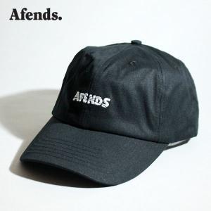 AFENDS,アフェンズ/21SU/CAP・キャップ/Break Through・A213605/BLACK・ブラック/フリーサイズ/ユニセックス/ロゴ|selfishsurf