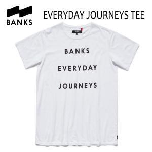 BANKS,バンクス/2017年SPRING/ S/S Tシャツ・半袖Tシャツ/EVERYDAY JOURNEYS TEE-SHIRT・ATS0133/OFF WHITE・オフホワイト/S・M・Lサイズ|selfishsurf