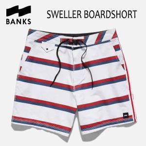 BANKS,バンクス/2017年SUMMER/水陸両用・ボードショーツ・サーフトランクス/SWELLER BOARDSHORT・BS0086/OFF WHITE・オフホワイト/28・30・32インチ|selfishsurf