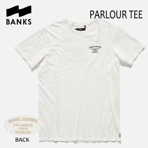 BANKS,バンクス/17HO/ S/S Tシャツ・半袖Tシャツ/PARLOUR TEE-SHIRT・ATS0204/OFF WHITE・オフホワイト/S・M・Lサイズ|selfishsurf