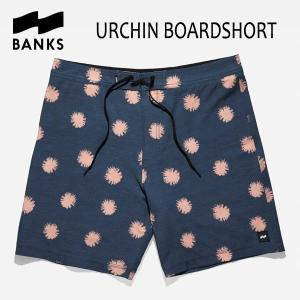 BANKS,バンクス/18SP/ボードショーツ・サーフトランクス/URCHIN BOARDSHORT・BS0113/DIRTY DENIM・ネイビー/28・30・32インチ|selfishsurf