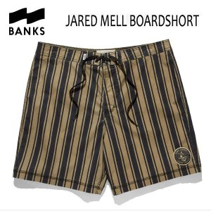 BANKS,バンクス/18SP/ボードショーツ・サーフトランクス/JARED MELL  BOARDSHORT・BS0118/DIRTY DENIM・ネイビー/28・30・32インチ|selfishsurf