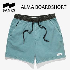BANKS,バンクス/18SP/ボードショーツ・サーフトランクス/ALMA BOARDSHORT・BS0120/GLACIER BLUE・ライトブルー/28・30・32インチ|selfishsurf
