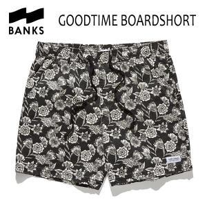 BANKS,バンクス/18SU/ボードショーツ・サーフトランクス/GOODTIME BOARDSHORT・BS0131/DIRTY BLACK・ブラック/28・30・32インチ|selfishsurf