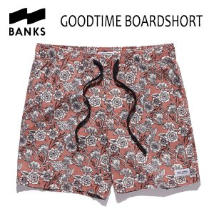 BANKS,バンクス/18SU/ボードショーツ・サーフトランクス/GOODTIME BOARDSHORT・BS0131/ASH ROSE・ピンク/28・30・32インチ|selfishsurf