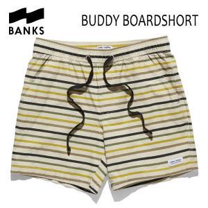 BANKS,バンクス/18SU/ボードショーツ・サーフトランクス/BUDDY BOARDSHORT・BS0132/BONE・ベージュ/28・30・32インチ|selfishsurf