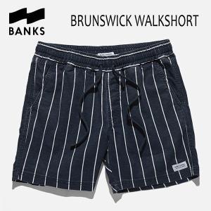 BANKS,バンクス/18SU/ウォークショーツ・ボトムス/BRUNSWICK WALKSHORTS・WS0079/DIRTY DENIM・ブルー/28・30インチ|selfishsurf
