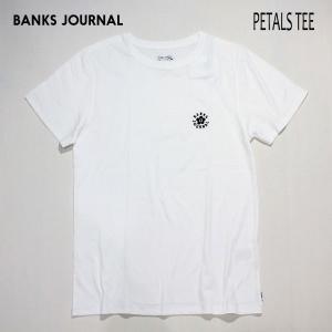 BANKS,バンクス/19SP/ S/S Tシャツ・半袖Tシャツ/PETALS TEE-SHIRT・ATS0346/OFF WHITE・オフホワイト/メンズ/オーガニックコットン|selfishsurf