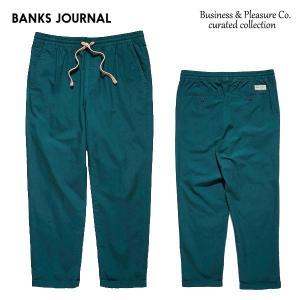 BANKS,バンクス/19SP/イージーパンツ/Business & Pleasure Co PANT・PT0063/SLATE・スレート/メンズ/コットンリネン/無地/|selfishsurf