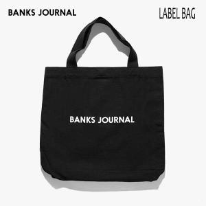 BANKS,バンクス/19SP/トートバッグ/LABEL TOTE BAG・BA0002/BLACK・ブラック/メンズ/レディーズ/コットン/キャンバス/ロゴ|selfishsurf