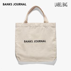 BANKS,バンクス/19SP/トートバッグ/LABEL TOTE BAG・BA0002/OFF WHITE・オフホワイト/生成り/メンズ/レディーズ/コットン/キャンバス/ロゴ|selfishsurf