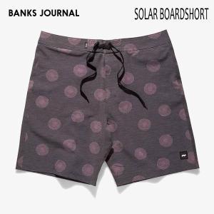 BANKS,バンクス/19SP/ボードショーツ・サーフトランクス/SOLAR BOARDSHORT・BS0167/DIRTY BLACK・ブラック/28・30・32インチ/メンズ/総柄/4wayストレッチ|selfishsurf