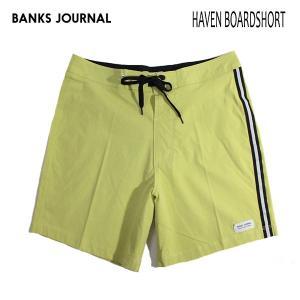 BANKS,バンクス/19SP/水陸両用・ボードショーツ・サーフトランクス/HAVEN BOARDSHORT・BS0172/LIME・ライム/無地/シンプル/2wayストレッチ/メンズ|selfishsurf