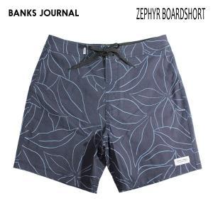BANKS,バンクス/19SP/水陸両用・ボードショーツ・サーフトランクス/ZEPHYR BOARDSHORT・BS0174/DIRTY DENIM・ネイビー/総柄/2wayストレッチ/メンズ|selfishsurf