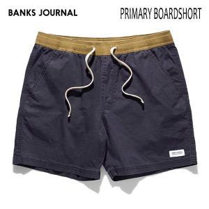 BANKS,バンクス/19SP/ボードショーツ・サーフトランクス/PRIMARY BOARDSHORT・BS0175/DIRTY DENIM・ネイビー/28・30・32インチ/メンズ/無地/シンプル/ELASTIC|selfishsurf