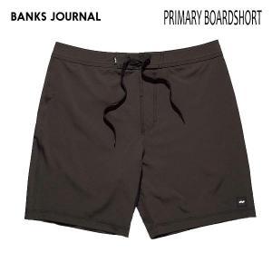BANKS,バンクス/19SU/ボードショーツ・サーフトランクス/PRIMARY BOARDSHORT・BS0182/DIRTY BLACK・ブラック/メンズ/サーフィン/無地/シンプル/4way stretch|selfishsurf