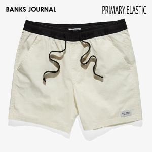 BANKS,バンクス/19SU/ボードショーツ・サーフトランクス/PRIMARY BOARDSHORT・BS0189/OFF WHITE・オフホワイト/28・30・32インチ/メンズ/無地/シンプル/ELASTIC|selfishsurf