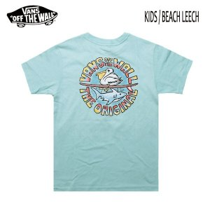 VANS,バンズ/19SU/子供用・KIDS/ S/STee,半袖Tシャツ/BEACH LEECH T-SHIRT・CUSTUM FIT/MINT・ミント/USサイズ/90/100/110/120/130|selfishsurf