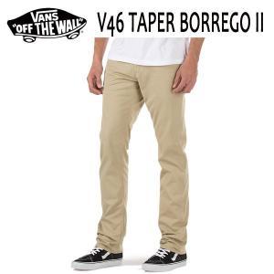VANS,バンズ/海外限定・日本未入荷/16SP/チノパンツ・ボトムス/V46 TAPER BORREGO II PANT/Khaki・カーキ/28・30・32インチ|selfishsurf