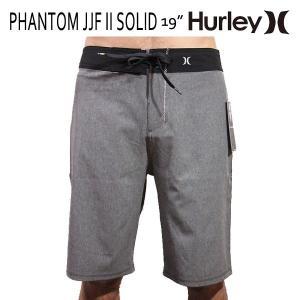 HURLEY,ハーレー/MENS,メンズ/ボードショーツ,海水パンツ/PHANTOM JJF II SOLID BOARDSHORT・19inch/00AA・ブラック/ジョンジョンシグネチャーモデル|selfishsurf
